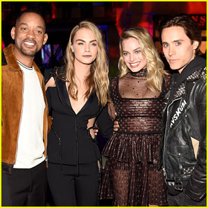 Jared Leto & Margot Robbie Reunite with 'Suicide Squad' Cast at MTV Movie Awards 2016!