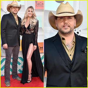 Jason Aldean Brings Wife Brittany Kerr to ACM Awards 2016!