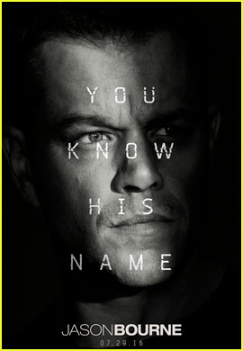 Matt Damon Stars in First Official 'Jason Bourne' Poster & Trailer