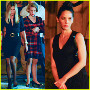 Jennifer Aniston & Olivia Munn Start Work on 'Office Christmas Party' with Kate McKinnon!