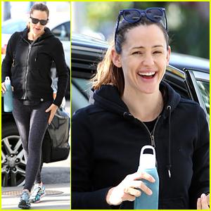 Jennifer Garner Gets In a Workout After Her Birthday