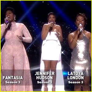 Jennifer Hudson, Fantasia, & LaToya London Perform at 'American Idol' Finale (Video)