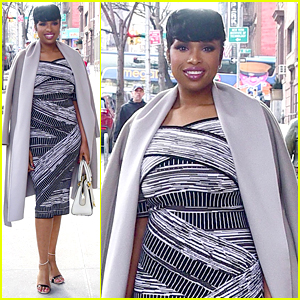 Jennifer Hudson Shows Off Her Son's Awesome Hairstyle!