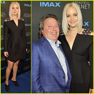 Jennifer Lawrence Hits NYC For 'A Beautiful Planet' Premiere