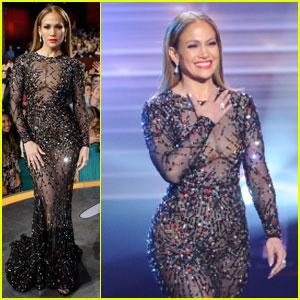 Jennifer Lopez Talks About Top 2 'American Idol' Finalists!