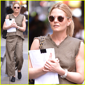 Jennifer Morrison Is Serious Business in NYC