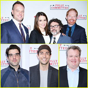 Jesse Tyler Ferguson Gets Star-Studded Support At 'Fully Committed' Opening Night!