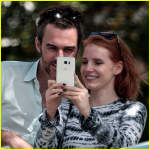Jessica Chastain Snaps a Cute Selfie with Her Boyfriend