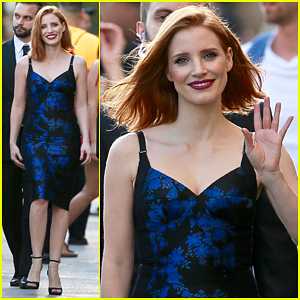 Jessica Chastain Spent Nine Hours In A Hot Tub with Chris Hemsworth for 'The Huntsman'!
