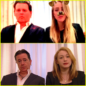 Amber Heard & Johnny Depp's Australia Apology Video Mocked By Late Night Hosts - Watch Now!