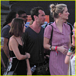 Jude Law Hits Up Coachella with His Girlfriend & Kids!