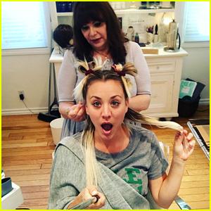 Kaley Cuoco Transforms After Wrapping 'Big Bang Theory' Season