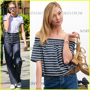 Karlie Kloss Hosts Epic Shoe Party with Nordstrom At USC!