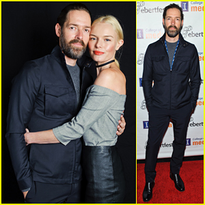 Kate Bosworth Supports Hubby Michael Polish At Ebertfest 2016!