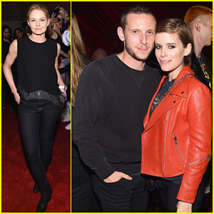 Kate Mara & Jamie Bell Couple Up At Marc Jacobs Eyewear Spring Launch Party!