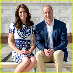 Kate Middleton & Prince William Visit the Taj Mahal in India