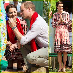 Kate Middleton Reveals Why Prince George Isn't With Her During Royal Visit to India!