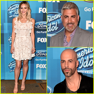 Katharine McPhee Goes Blonde at 'American Idol' Finale!