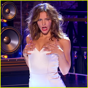 Katharine McPhee Lip Syncs to Jason Derulo While Battling Him!