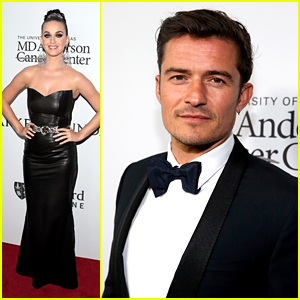 Katy Perry & Orlando Bloom Walk Red Carpet Separately at Parker Institute Gala