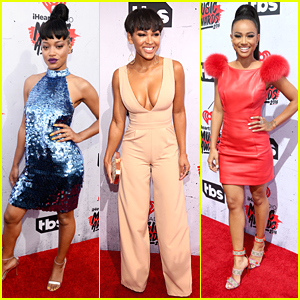 Keke Palmer & Meagan Good Step Out For iHeartRadio Music Awards 2016