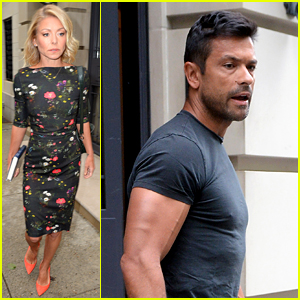 Kelly Ripa's Hubby Mark Consuelos Looks Buff After Vacation