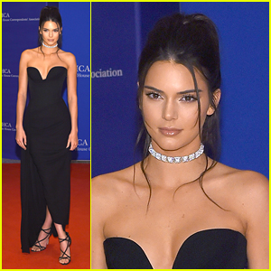 Kendall Jenner Makes Elegant Arrival at WHCD 2016