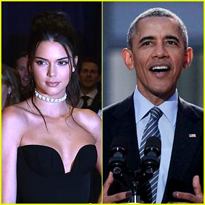 President Obama Asks Kendall Jenner to 'Say Hi to Kim & Kanye' at WHCD 2016