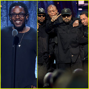 Kendrick Lamar Inducts NWA Into Rock & Roll Hall of Fame