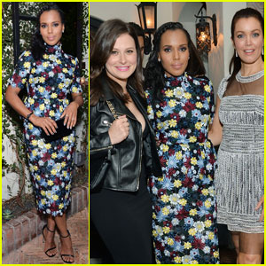 Kerry Washington Gets Support From 'Scandal' Cast at Elle Event