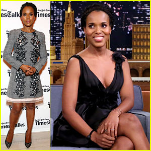 Kerry Washington Plays Famous Face Off with Jimmy Fallon
