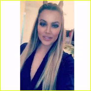 Khloe Kardashian Enlists Lamar Odom for Her First Snapchat