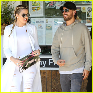 Khloe Kardashian & Scott Disick Grab Lunch on Kourtney Kardashian's Birthday
