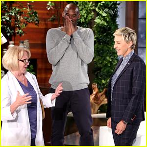 Kobe Bryant Plays Hidden Camera Prank with Ellen DeGeneres!
