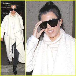 Kourtney Kardashian Enlisted Khloe to Babysit While She Was Away!