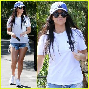 Kourtney Kardashian Is Happy to Be Back in LA With Her Kids