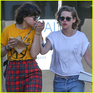 Kristen Stewart & Girlfriend Soko Kiss Each Other's Hands While Running Errands