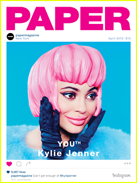 Kylie Jenner Covers 'Paper' Mag YOUth Issue!