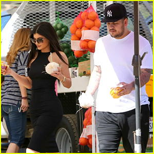 Kylie Jenner & Rob Kardashian Spend Quality Time Together
