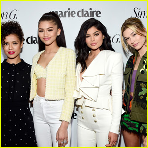 Kylie Jenner & 'Marie Claire' Cover Girls Celebrate Fresh Faces Issue