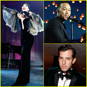 Lady Gaga & John Legend Hit The Stage At Parker Institute Gala!