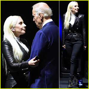 Lady Gaga Performs at 'It's On Us' Rally with VP Joe Biden
