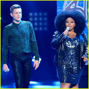 La'Porsha Renae & Trent Harmon Sing 'It Takes Two' at 'American Idol' Finale (Video)
