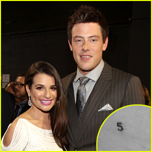Lea Michele Gets New Tattoo in Honor of Cory Monteith