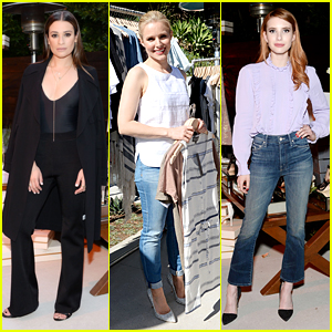 Lea Michele & Kristen Bell Launch Imagine Vince Camuto Collection