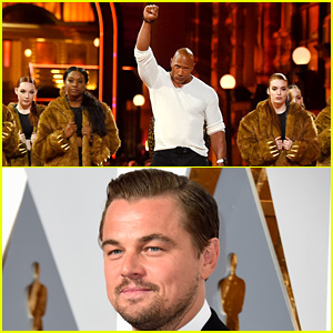 Leonardo DiCaprio 'Got F'ed By a Bear' Rap Number at MTV Movie Awards 2016 - Watch Now!