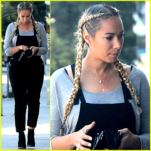 Leona Lewis Steps Out After Celebrating Her 31st Birthday