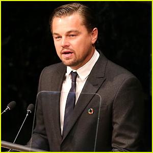 Leonardo DiCaprio Gives Earth Day Speech at UN (Video)