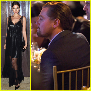 Leonardo DiCaprio Shows Support At Foundation Fighting Blindness World Gala!