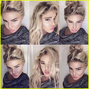 Lil' Kim Debuts New Look in Selfies on Instagram